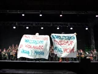 «Кремлевский рашизм - вон за Дон!»: проукраинские поляки сорвали концерт ансамбля имени Александрова
