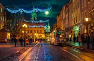 ТОП лучших новогодних локаций Львова
