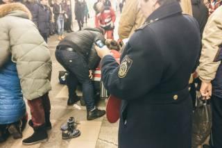 На одной из станций киевского метро умерла маленькая девочка с тяжелой формой ДЦП