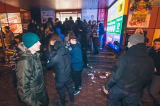 Националисты пытались захватить ТЦ на окраине Киева