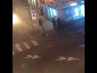 В центре Страсбурга по людям открыли прицельный огонь из автомата