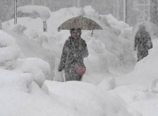 Синоптики предупредили украинцев о затяжных снегопадах