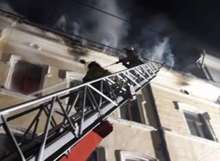 «Самый масштабный пожар за последние двадцать лет» произошел в Черновцах