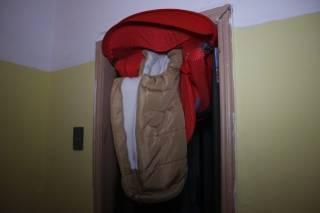 В Киеве взбесившийся лифт едва не раздавил младенца