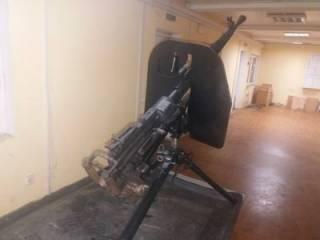 Украинец отправился в гости к «москалям», прихватив с собой крупнокалиберный пулемет
