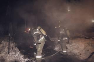 В Киеве горело здание института