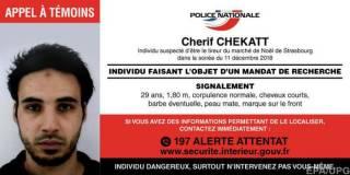 Полиция «нейтрализовала» стрелка из Страсбурга при задержании