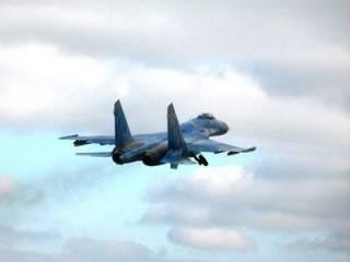 Под Житомиром разбился истребитель Су-27