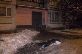 В Киеве мужчина покончил с собой, прыгнув с пятнадцатого этажа