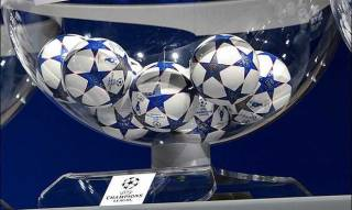 Сoстоялась жеребьевка 1/8 финала Лиги чемпионов