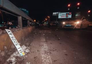 В Киеве таксист устроил кровавое ДТП из четырех авто
