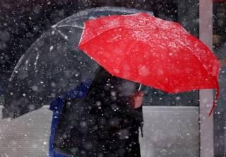 На Украину вновь обрушатся снегопады