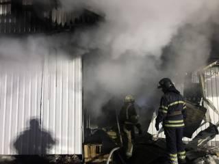 В Белой Церкви сгорел храм УПЦ