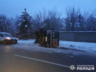 Под Киевом перевернулась переполненная маршрутка. 8 человек забрала «скорая»