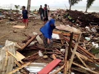 Индонезию «накрыло» разрушительным цунами: число жертв стремительно растет