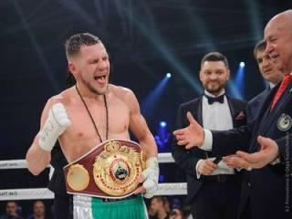 Очередной чемпионский пояс достался украинскому боксеру