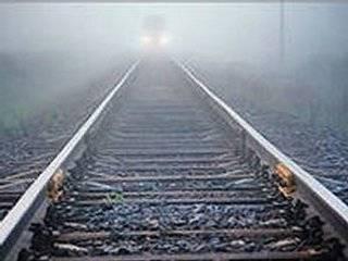 В поле под Тернополем застрял пассажирский поезд