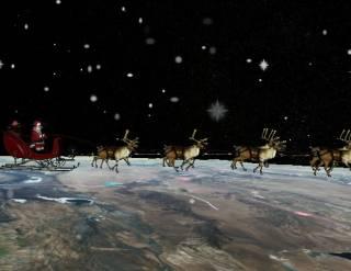 Виртуальный Санта-Клаус, созданный американскими военными, уже разнес более, 1,5 млрд подарков