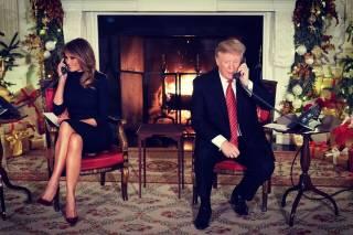 Поздравляя детей с Рождеством, Трамп удивился, что они все еще верят в Санта-Клауса