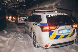 В Киеве неизвестный злоумышленник забросил взрывное устройство в дом с детьми