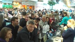 Около 200 туристов не могут улететь из «Борисполя» в Египет. Представители турфирмы исчезли