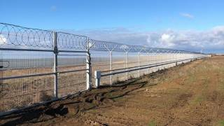 Россия воздвигла на границе Украины с Крымом «невидимый» забор