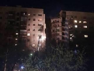Момент взрыва в жилом доме в Магнитогорске попал на видео