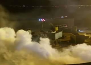 Американские пограничники применили газ против мексиканцев: резонансное видео