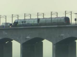 На мосту в Дании столкнулись два поезда – есть жертвы