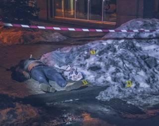 В Киеве кавказец с собаками убил мужчину