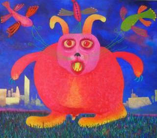 Не для слабонервных: в Киеве открывается выставка психоделической живописи (18+)