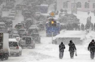 В шести областях Украины объявлено штормовое предупреждение