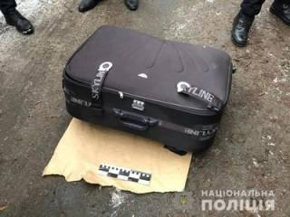 В Днепре мертвую девушку запихнули в чемодан