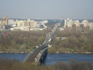 В Киеве почти два года будут ремонтировать мост Метро