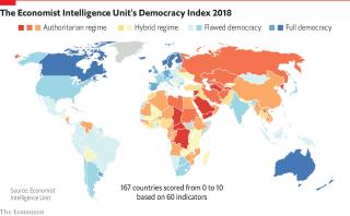 Украина сохранила статус государства с «гибридным режимом» правления