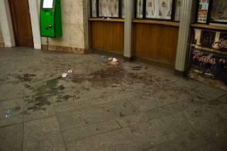 В столичном ботаническом саду порезали бомжа (18+)