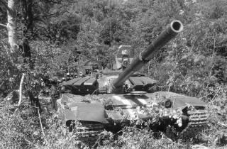 Война на Донбассе: первый захваченный российский Т-72Б3