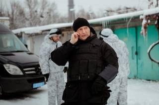 В Киеве снимают сериал «Захват», посвященный работе спецназа