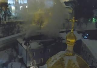 По подозрению в поджоге Киево-Печерской Лавры задержали бездомного