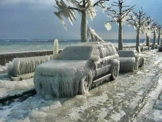 В России ударили шестидесятиградусные морозы