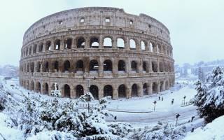 В Риме насмерть замерзли десять бомжей