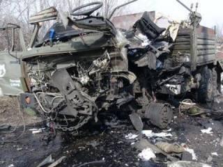 На Донбассе ракета попала в грузовик с бойцами ВСУ