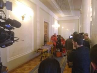 В Раде стало плохо депутату Шухевичу. Его забрала «скорая»