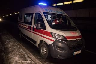 В Киеве самоубийца сиганул вниз с моста и выжил