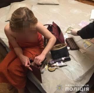 Полиция разогнала сразу два борделя, находившихся в самом центре Киева