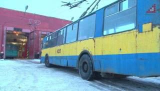 В Чернигове начали дезинфицировать троллейбусы