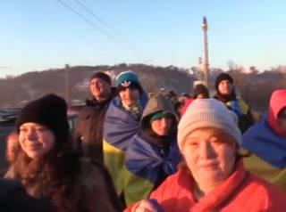 В Киеве празднуют «юбилейный» День соборности. В центр города лучше не соваться