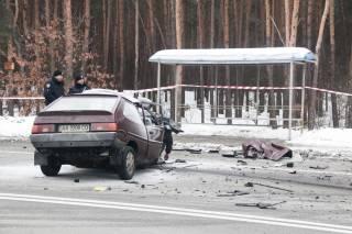В «лобовом» ДТП на окраине Киева погибли три человека
