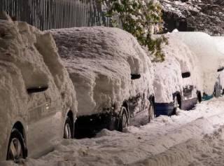 Из-за снегопада в Киевской области всего за сутки произошло сразу 155 ДТП
