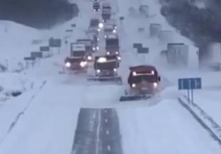 В полиции рассказали о последствиях страшного снегопада, накрывшего Украину